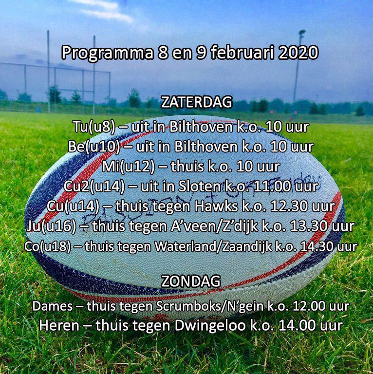 Programma week 6